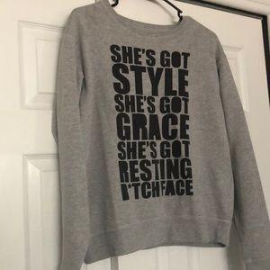 Women's size M sweatshirt